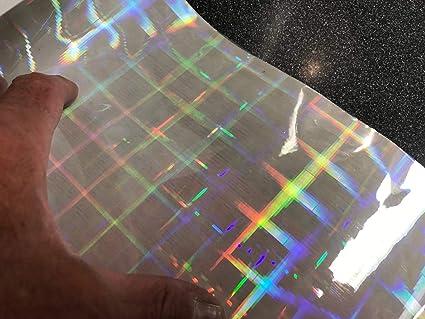 Amazon com: Transparent Holographic Film, Overlay Novelty Grade