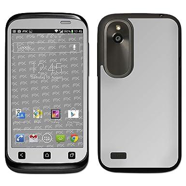 atFoliX HTC Desire X Skin FX-Chrome-Glossy-Silver Sticker