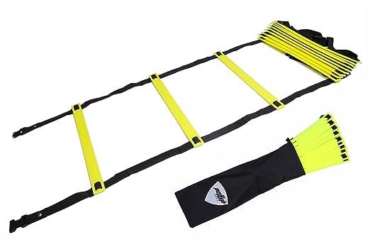 10 opinioni per PEPUP Premium Super Flat Adjustable, Scala Addestramento di Velocità e Agilità