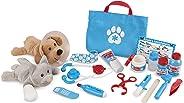 Melissa & Doug Set de Accesorios de Veterinario Para Examinar y Tratar Mascotas para Juego Imaginativo, Juego de Desarrollo,