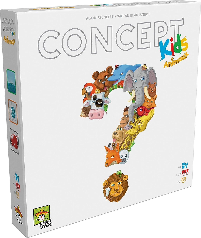 Asmodée- CKA-FR01 Concept Kids, Juego infantil: Amazon.es ...