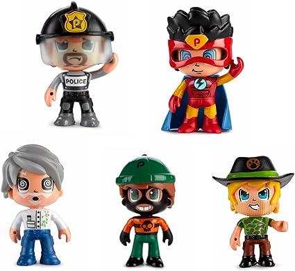 Amazon.es: Pinypon Action- Pack de 5 Figuras, Policía, Superhéroe ...