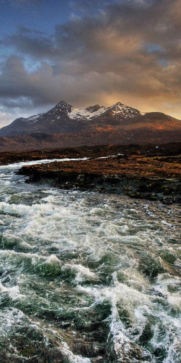 fotobar!style G/ästehandtuch 30 x 50 cm ges/äumt Isle of Skye Schottland 2er Set