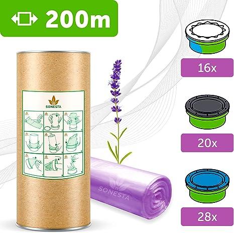 Twist /& Click Simplee Liti/ère Litter Locker II ECO Recharge de poubelle /à couches compatible Sangenic TEC Angelcare