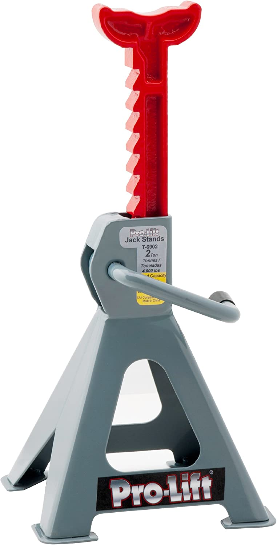 Pro-LifT T-6902 Grey Jack Stand - 2 Ton Capacity: Automotive