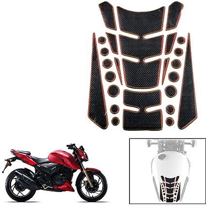 Vheelocityin Decorative Sticker Carbon Fiber Motorcycle Tankpad