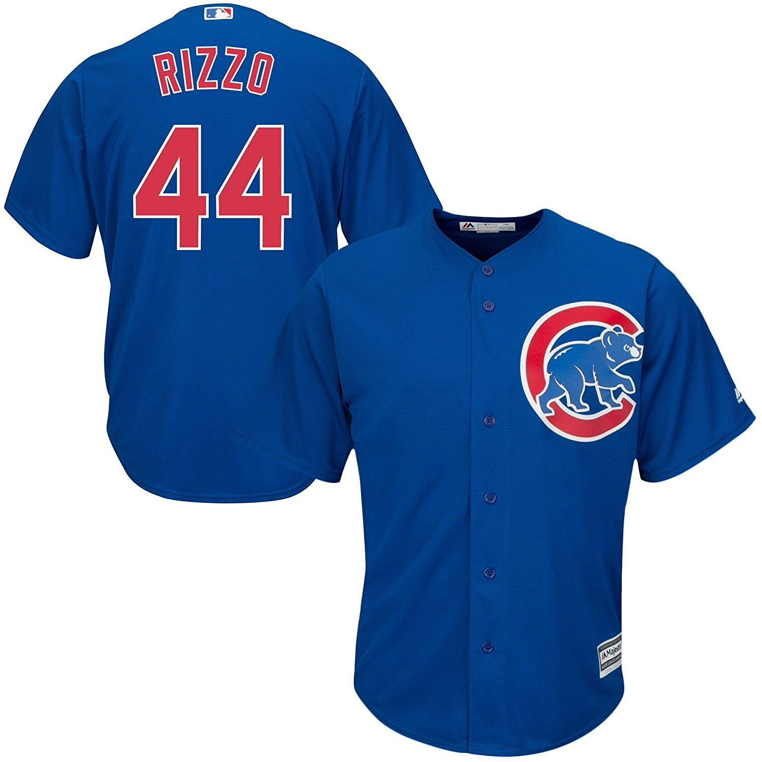 Majestic Anthony Rizzo Chicago Cubs MLB Youth Blue Alternate Cool Base  Replica Jersey 9d22c1e4e