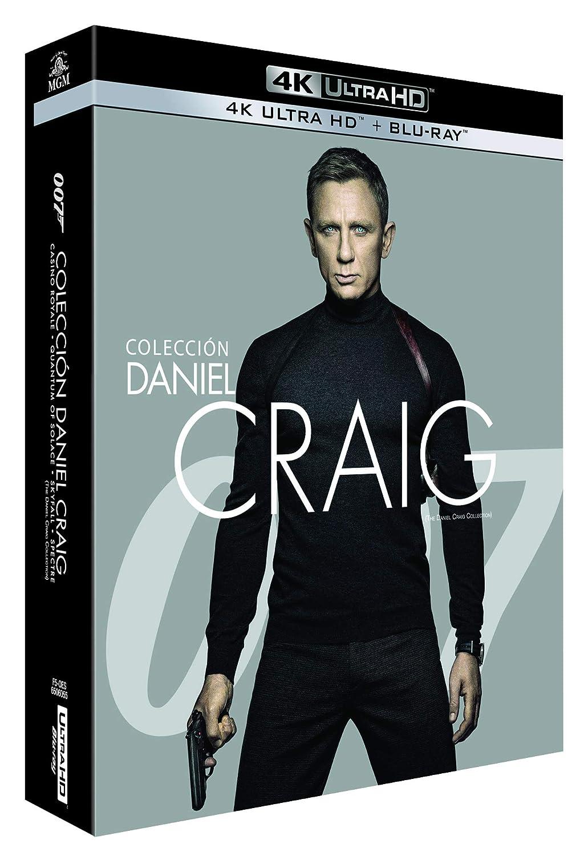 Pack James Bond Daniel Craig - Incluye: Casino Royale + Skyfall + ...
