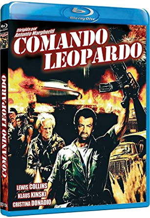 Comando Leopardo [Blu-ray]: Amazon.es: Lewis Collins, Klaus ...