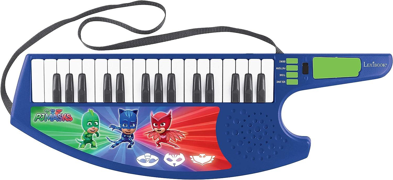 Pj Mask (K280PJM Guitarra Teclado Musical Keytar de los Pijamasks, a Partir de 3 años, Multicolor (Lexibook: Amazon.es: Juguetes y juegos