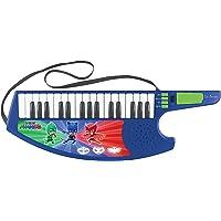 PJ Masks Pijamasks-Keytar el Teclado Guitarra, Instrumento Infantil a Partir de 3 años (Lexibook K280PJM) Musical, Color Blue/Verde/Rosso