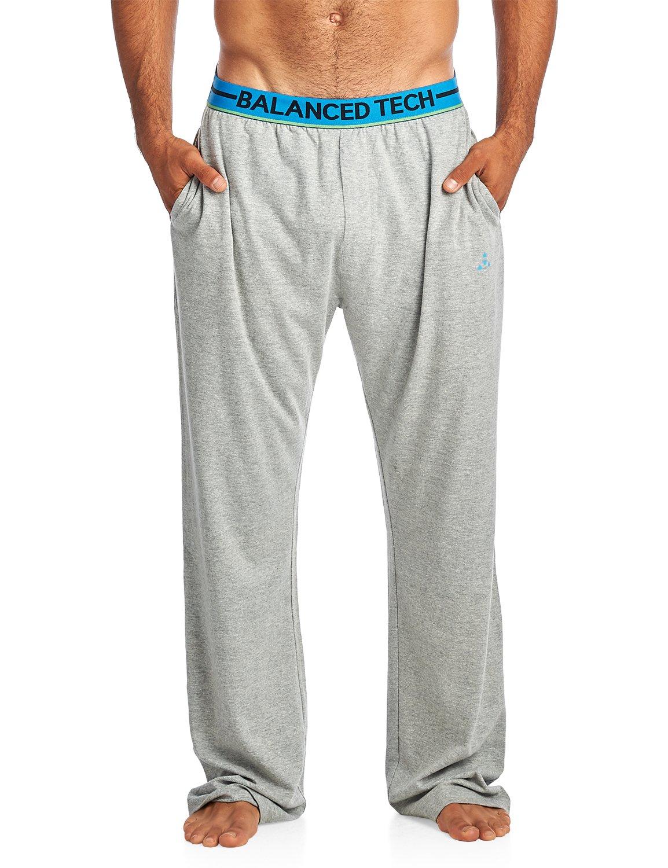 Balanced Tech Men's Solid Cotton Knit Pajama Lounge Pants BT90992JP