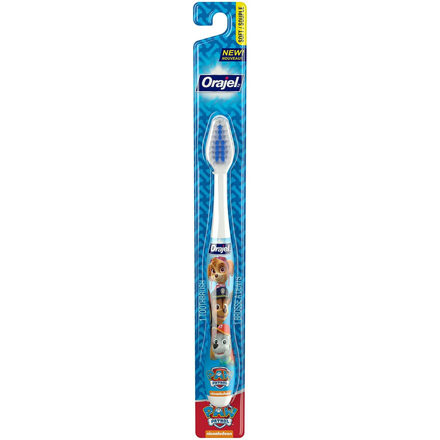 Orajel Kids Paw Patrol Toothbrush, Soft Bristles Church & Dwight CA