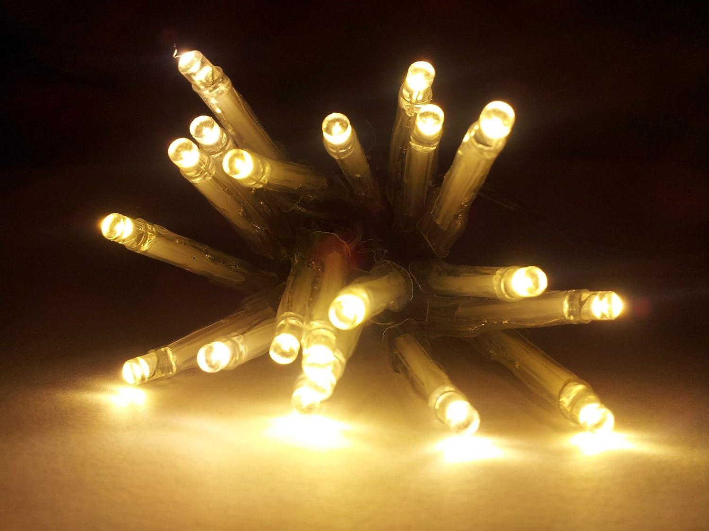 Led Lichterkette Warmweiß 30 Birnen Länge 3m Gemütliche Weihnachtsbeleuchtung Beleuchtung