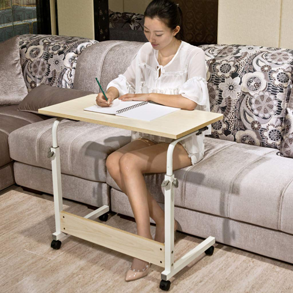 Desk Mobile Computer, Modern Minimalist Folding Table - Home Learning Writing Adjustable Height by Desk (Image #3)