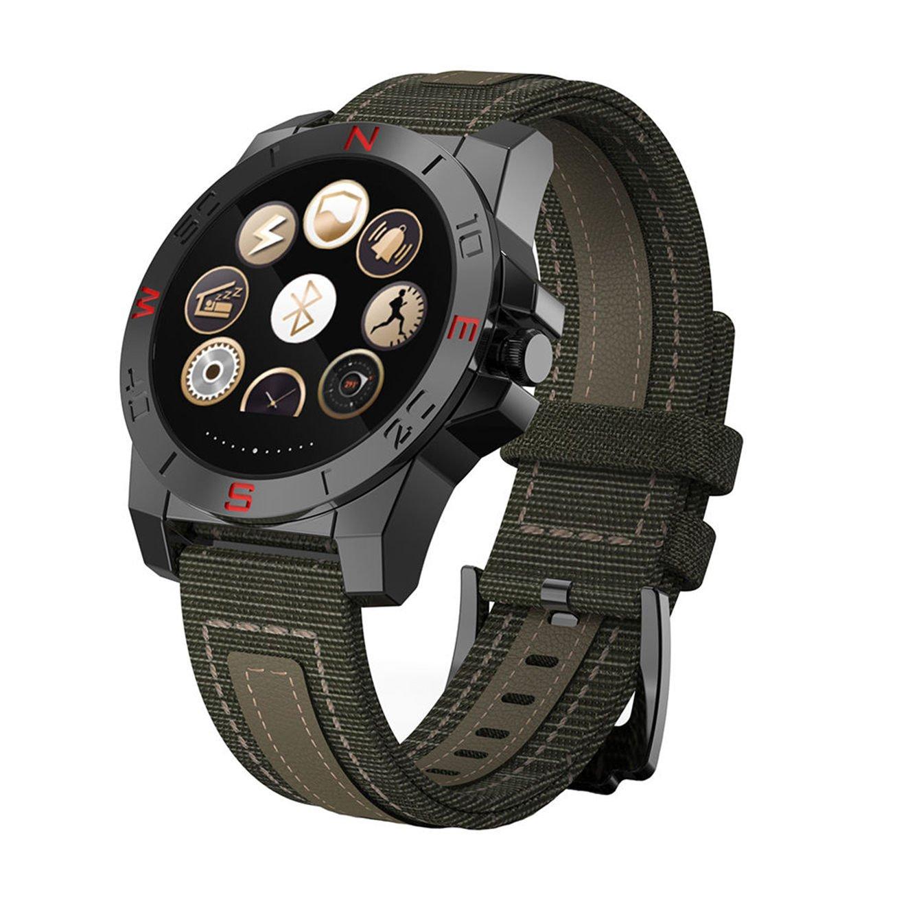 Verde-Muñeca Bluetooth Smart Watch Monitor de sueño ...