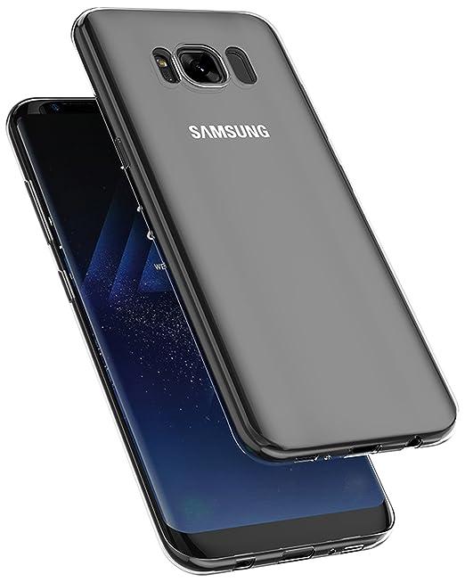 19 opinioni per COVERbasics AIRGEL 0.3mm per Samsung Galaxy S8 SM-G950 con Bordo Proteggi