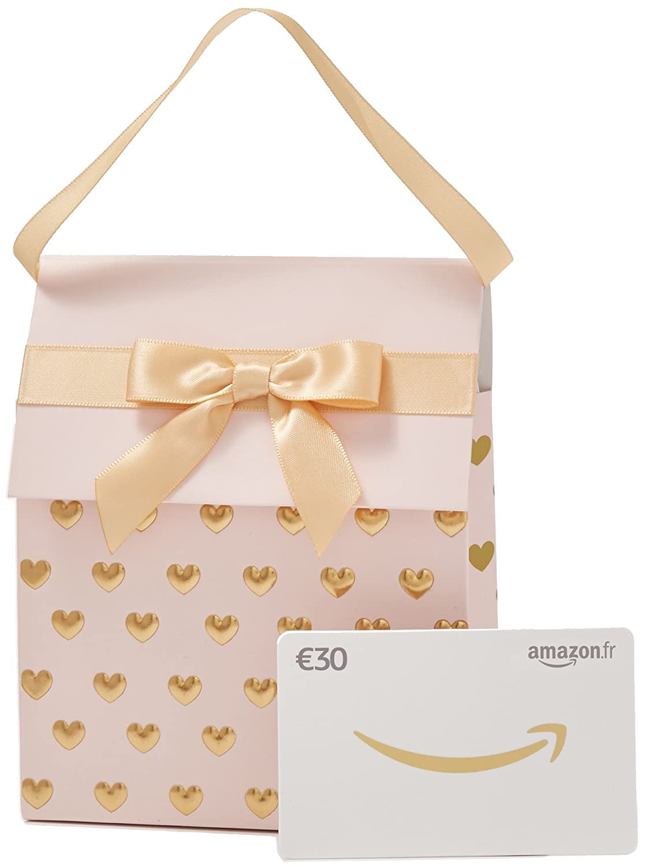 Carte cadeau Amazon.fr dans un sac cadeau - Livraison gratuite en 1 jour ouvré Chèques-cadeaux Amazon.fr Fixed