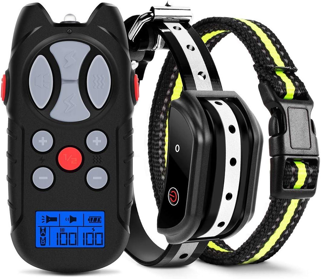 Flittor Shock Collar for Dogs, Dog Training Collar