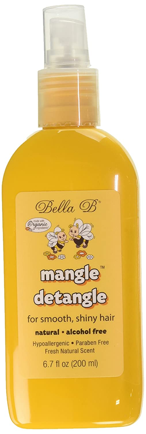 Bella B Naturals 2 Piece Mangle Hair Detangle, 6.7 Ounce
