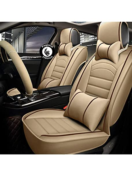 Peachy Pegasus Premium Pu Leather Car Seat Cover Beige Red For Volkswagen Ameo Ocoug Best Dining Table And Chair Ideas Images Ocougorg