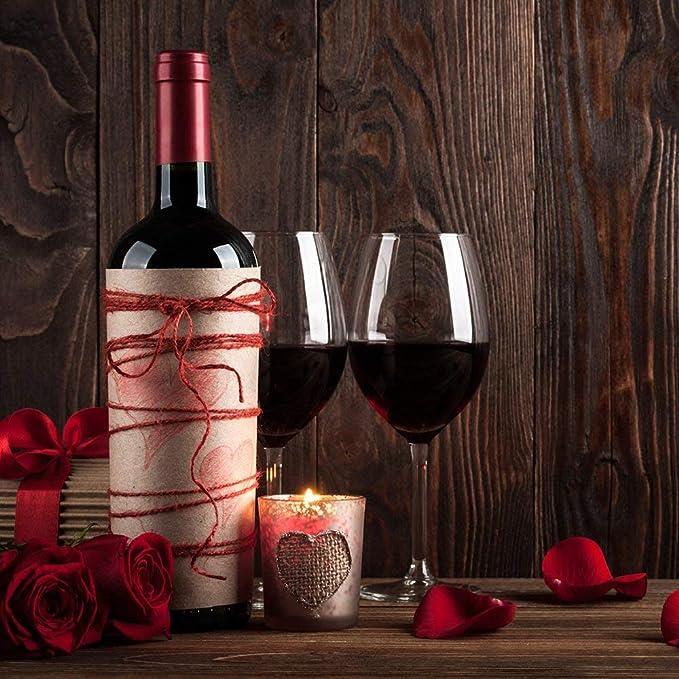 FAREETY Original Stand de Vidrio de Vino Rojo Hierro Forjado Desmontable Peut Accueillir 8 Botellas y Ocho Copas de Vino: Amazon.es: Hogar