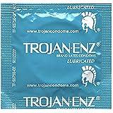 Trojan Condom ENZ Lubricated, 100 Count