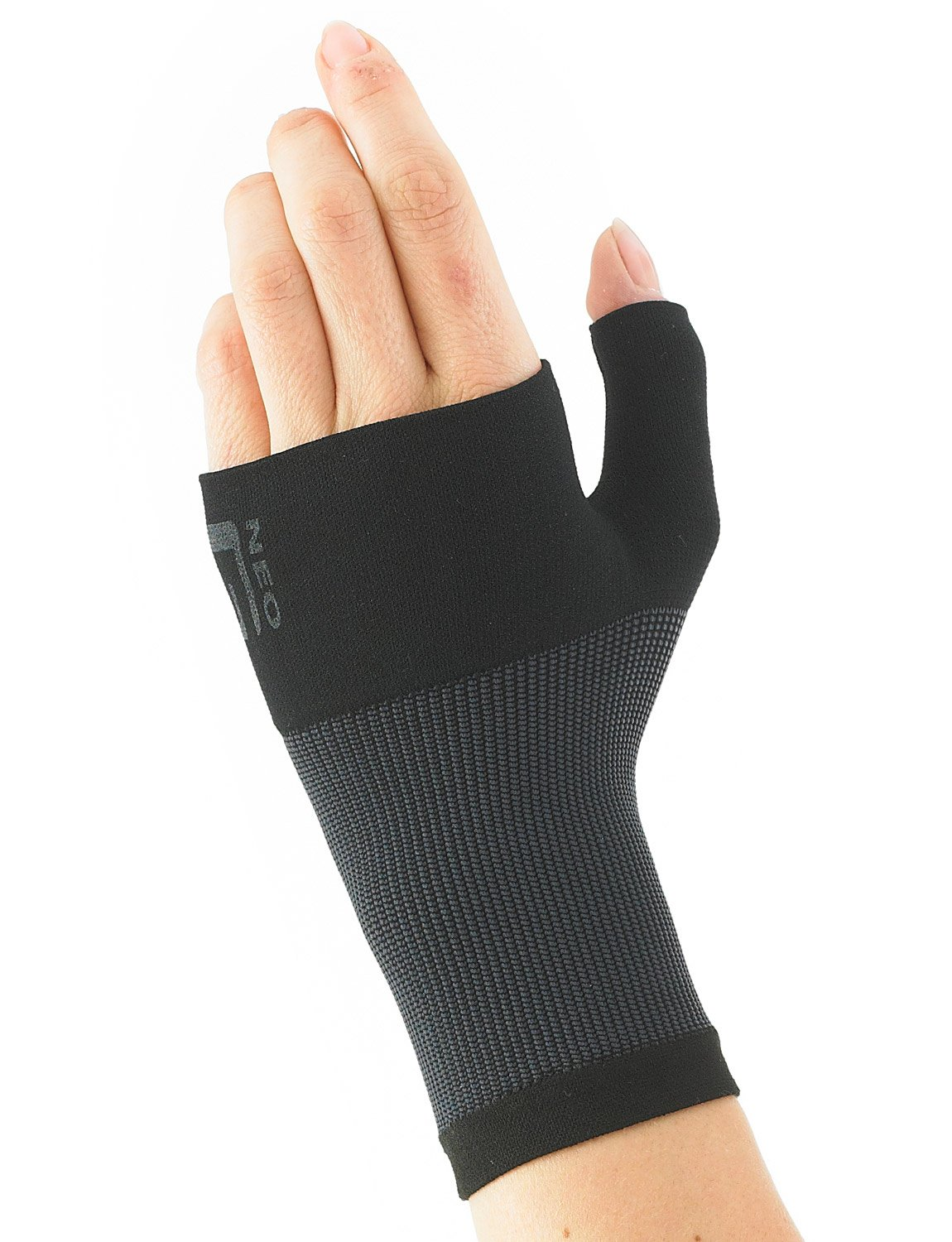 Neo G Wrist and Thumb Support - Ideal For Arthritis, Joint Pain, Tendonitis, Sprains, Hand Instability, Sports - Multi Zone Compression Sleeve - Airflow - Class 1 Medical Device - Medium - Black by Neo-G