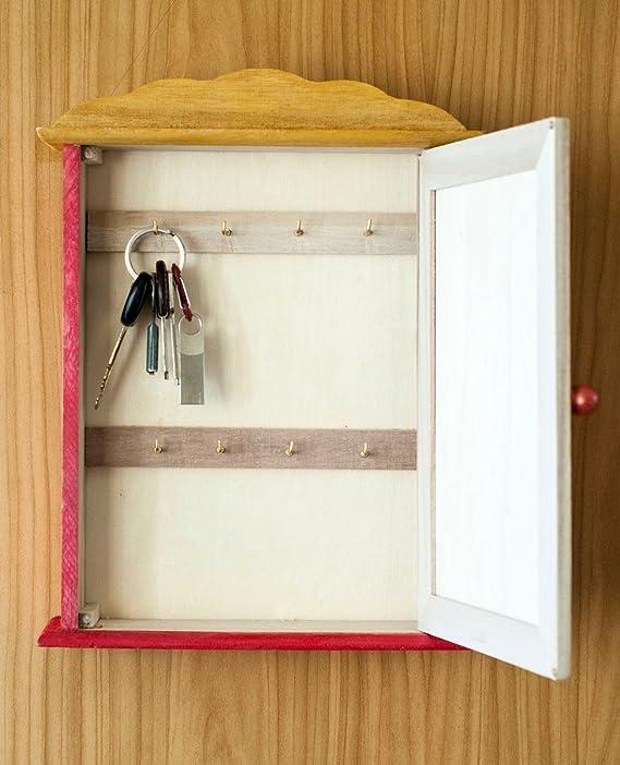 Holz Schlüsselkasten - groß, Schlüsselbox, Schlüsselschrank aus ...