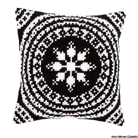 Amazon.com: Vervaco Cushion: Black and White, Acrylic, Multi ...
