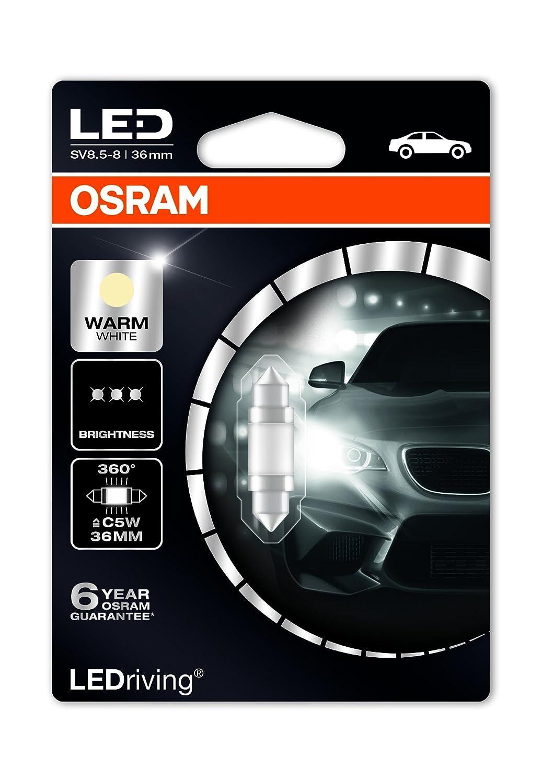Osram LEDriving 6497WW-01B 1W 12V SV8.5-8 BLI1