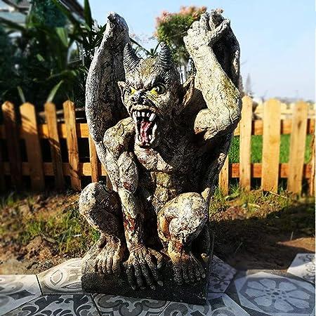Adornos Escultura,Adornos de jardín Estatua creativa del diablo de ...