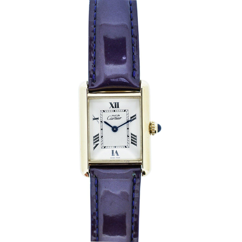 Cartier Tank Francaise quartz womens Watch 2415 (Certified Pre-owned)