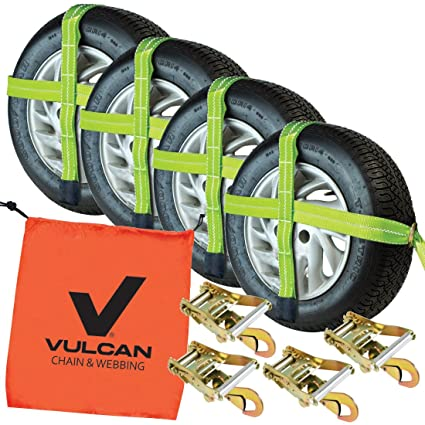 amazon com vulcan adjustable loop car tie down kit with snap hooks rh amazon com Automotive Wiring Harness Manufacturers OEM Wiring Harness Connectors