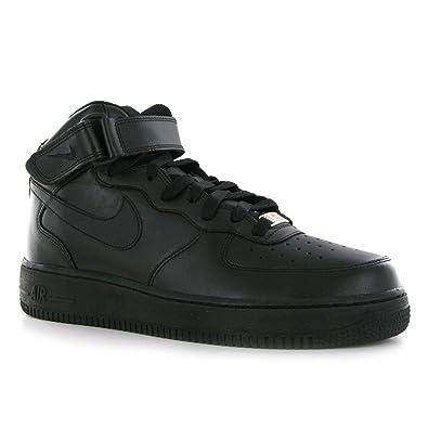 Nike Air Force 1 Mid 07 Herren Schuhe SchwarzSchwarz