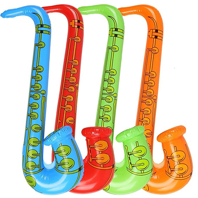 Newin Star Globos hinchables para saxofón (1 pieza, accesorios ...