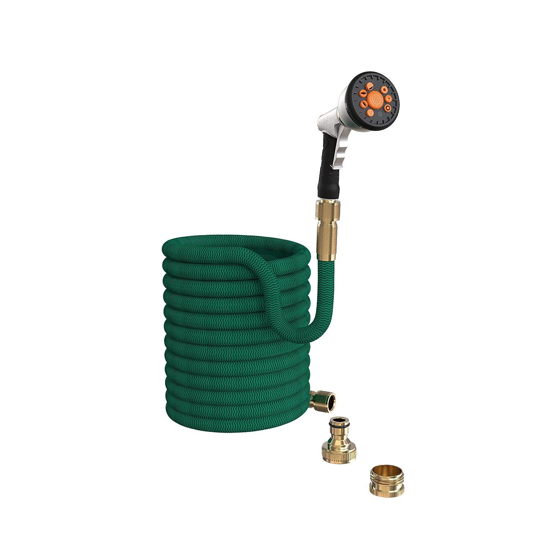 Hochdruck Spritzpistole zur Bew/ässerung und Reinigung Handbrause f/ür Garten Schlauch IBEX Gartenbrause Greenkeeper Multifunktion Sprayer
