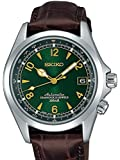 セイコー Seiko Men's SARB017 Mechanical Alpinist Analog Automatic Self Wind Brown Watch [並行輸入品]