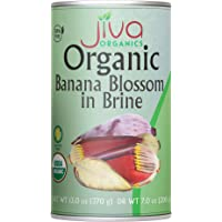 Jiva Organic Banana Blossoms 14 Ounce (Pack of 6) - BPA Free, Gluten Free - Delicious Meatless Alternative