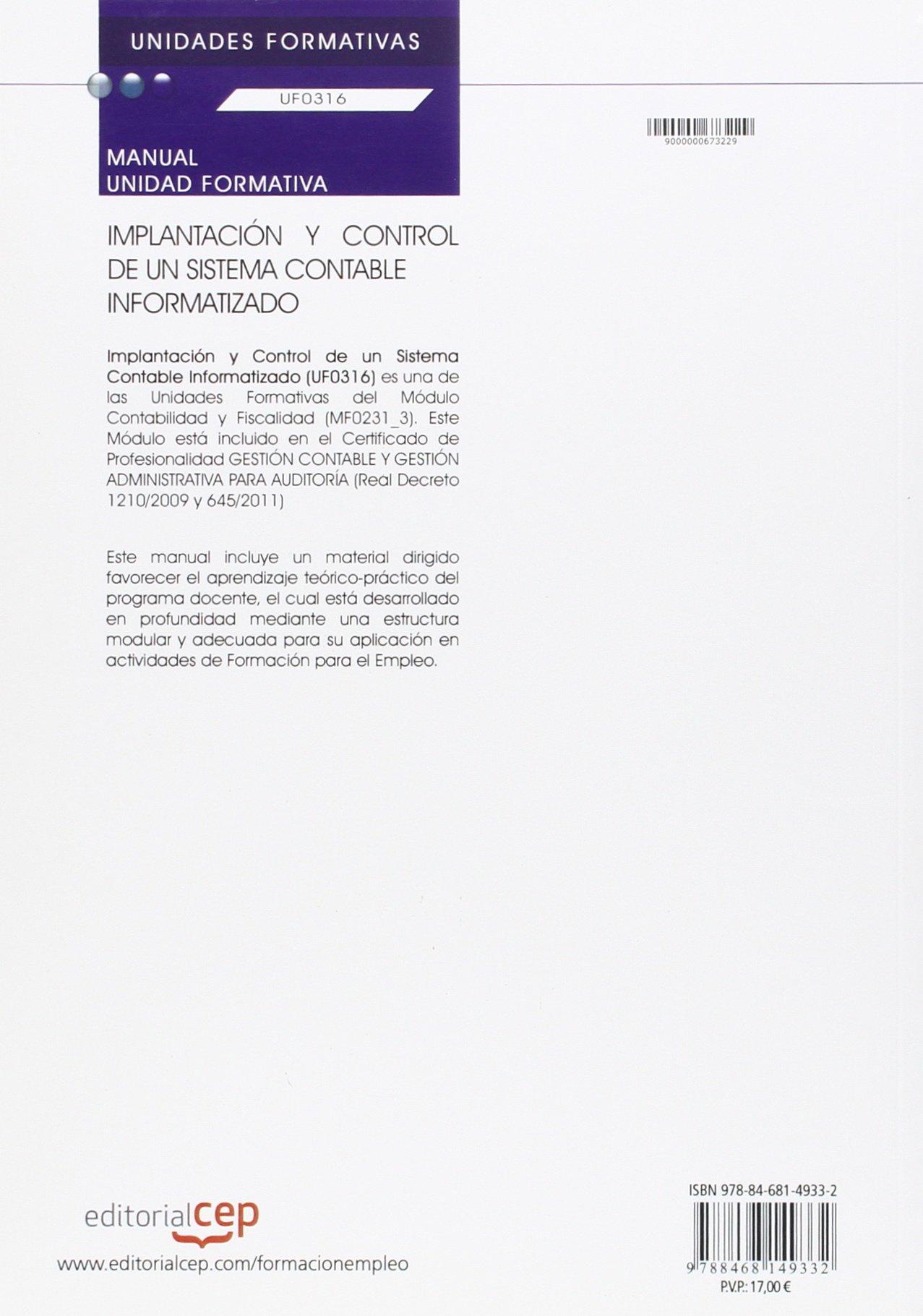 Manual Implantacion Y Control De Un Sistema Contable