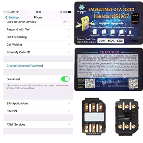 Leoie SIM Card Perfect Unlock Turbo SIM Card Nano-SIM
