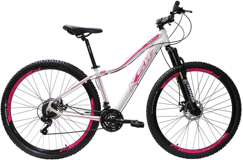 Bicicleta Ksw Aro 29 Feminina Alumínio Freio A Disco 21v