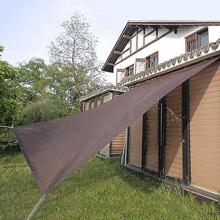 Sun Shade Brown - Cubierta para Ventana Toldo para Patio Al Aire Libre, PéRgola Gazebo Sunblock, Cerca Pantalla Privacidad con Ojales (TamañO: 2mX6m): Amazon.es: Hogar