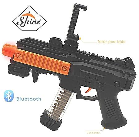 c799ab9515b7 AR GAME GUN NEW TECHNOLOGY SHOOTING GUN FOR ANDROID OR IOS SMART PHONE  CONNECT THROUGH BLUETOOTH