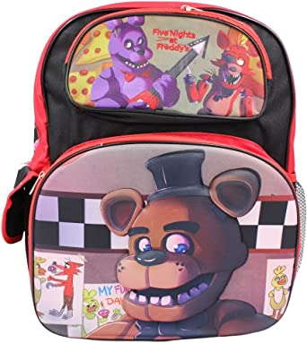 Five Nights at Freddy's Bonnie,Foxy Mangle Exclusive Kids School Backpack 16