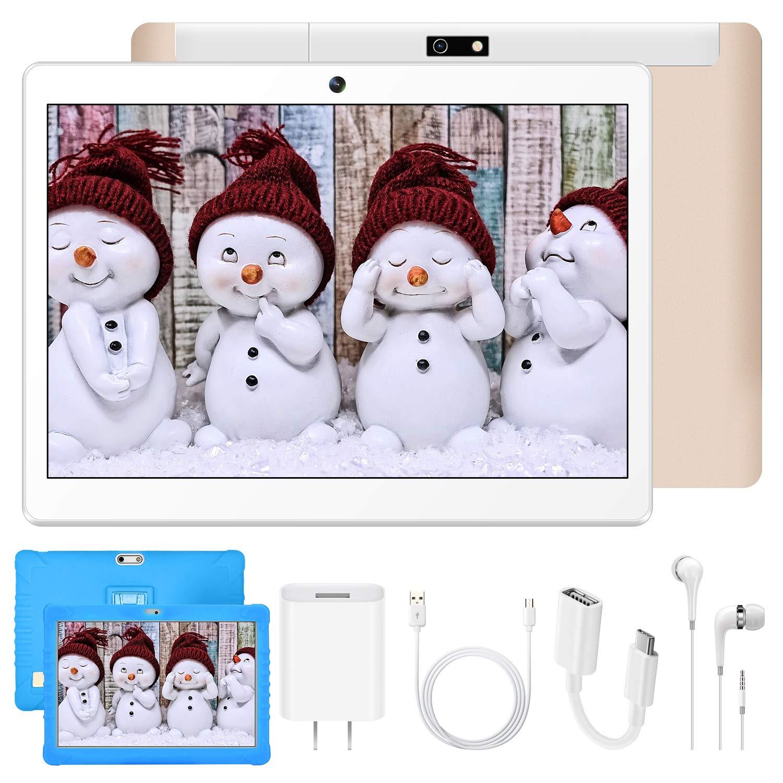 DUODUOGO 4G Tablet Android 9.0 Quad-Core 1.5 GHz Dual SIM Tablet PC Offerta Del Giorno con Tastiera//Netflix//OTG Tablet 10 Pollici con Wifi Offerte Nero espandibile 128GB RAM da 3GB 32GB ROM