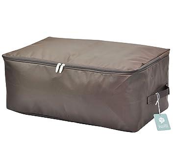 Bolsa de almacenamiento suave para guardarropas, buena para suéteres, abrigos, ropa de invierno, chaquetas de plumas, caja de almacenamiento a prueba ...
