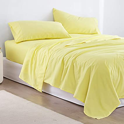 Amazon Com Byourbed Microfiber Full Xl Bedding Sheet Set