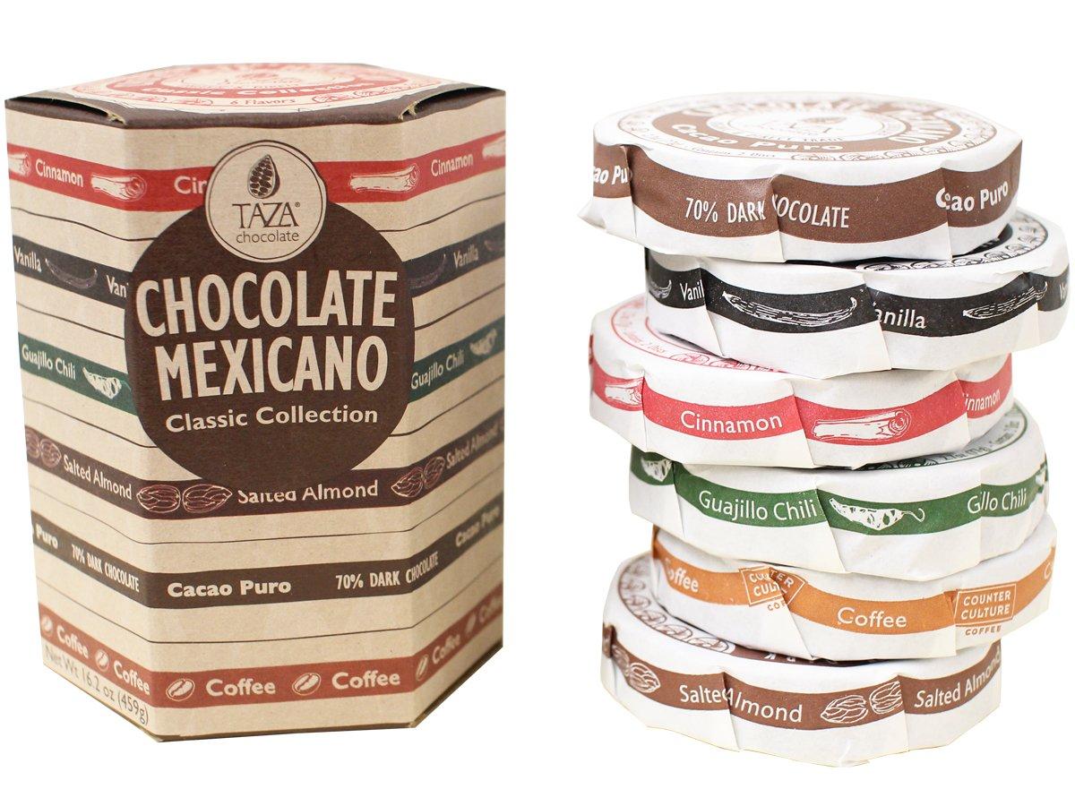Amazon.com : Taza Chocolate Mexicano Disc Classic Collection, 16.2 ...