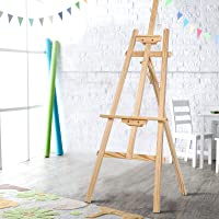 Artiss Pine Wood Easel Artist Art Display Painting Shop Canvas Tripod Stand Wedding Adjustable